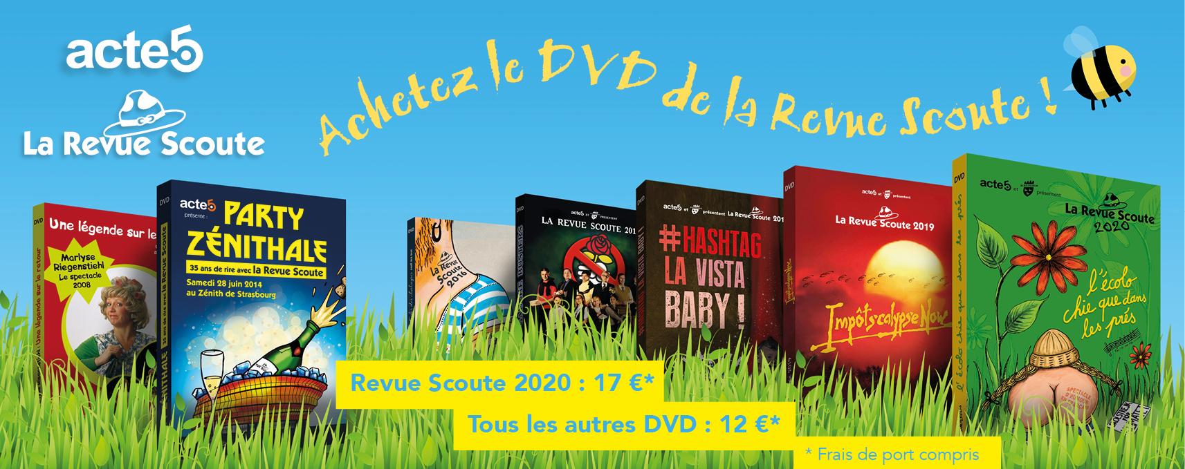 commande DVD Revue Scoute